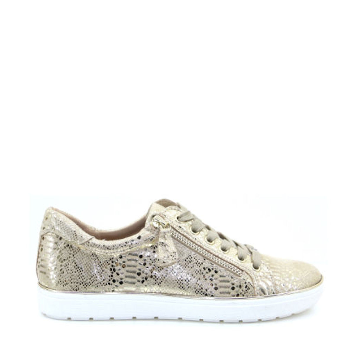 Caprice 23606-24 - Gold Reptile Effect Trainer
