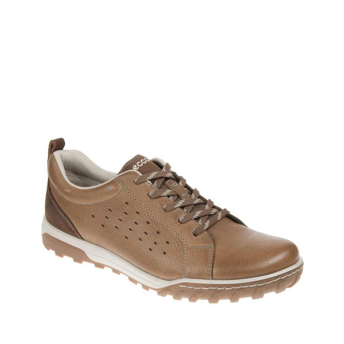 ECCO 830684 58880 Urban Lifestyle Mens Lace Up Birch Dark Clay Shoe