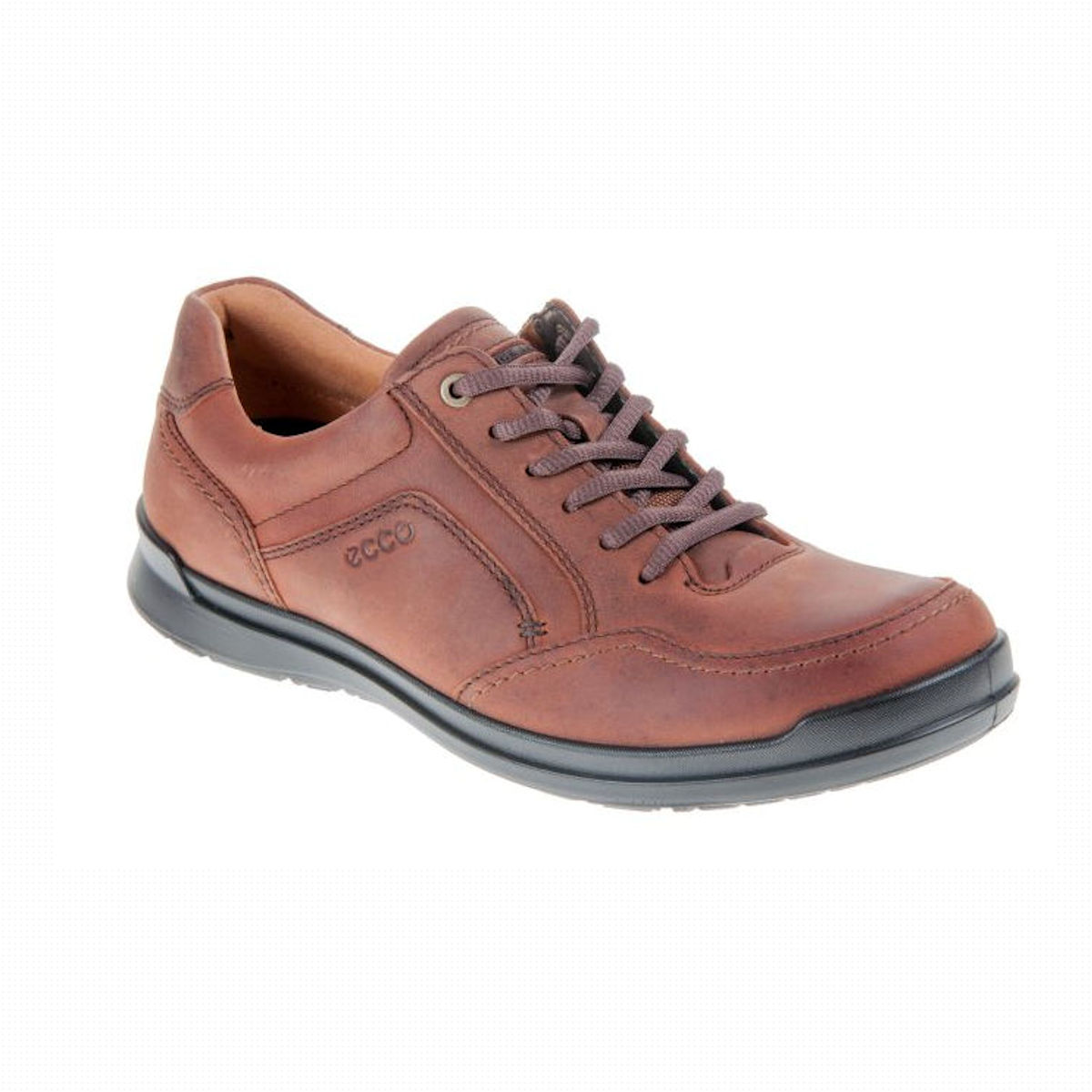 ECCO Howell - Mens Cognac Lace Up Shoe