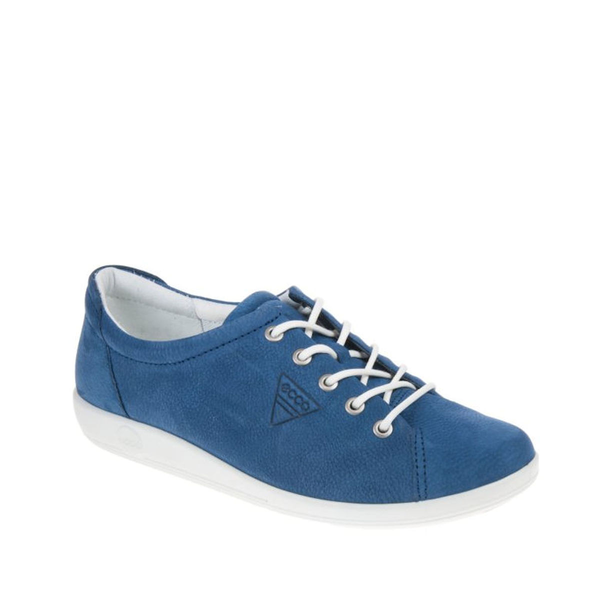 Ecco Soft 2 True Navy soft leather trainers