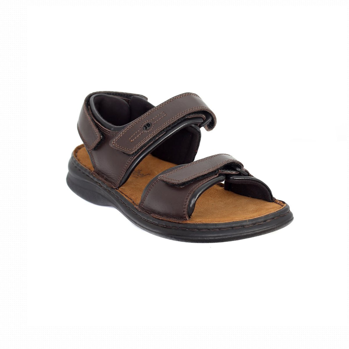Josef Seibel Rafe Mens Brown Sandal