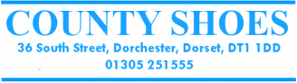 County Shoes Dorchester - quality shoes from leading brands or children, men and women