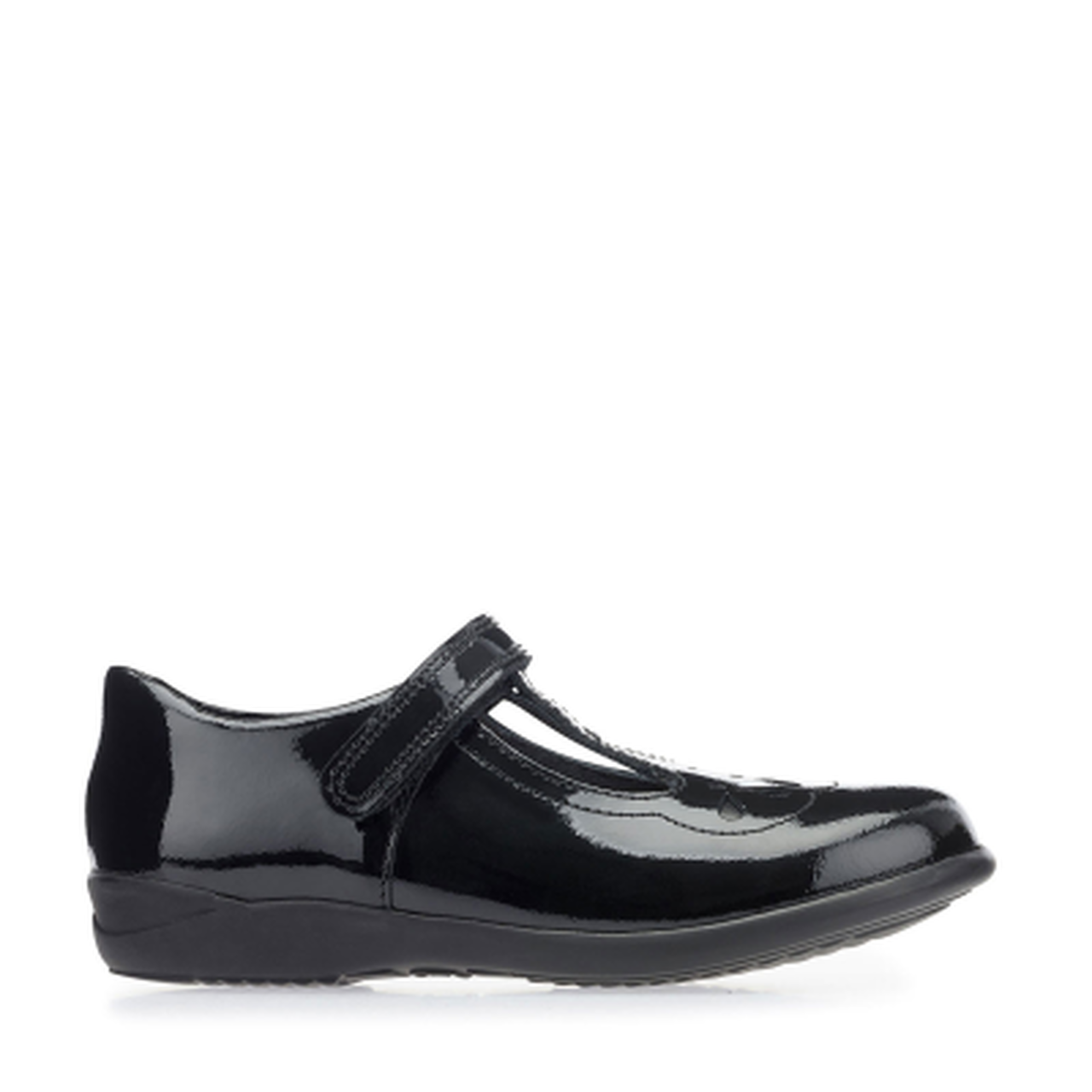 Start-rite Poppy Girls Black Patent Shoe