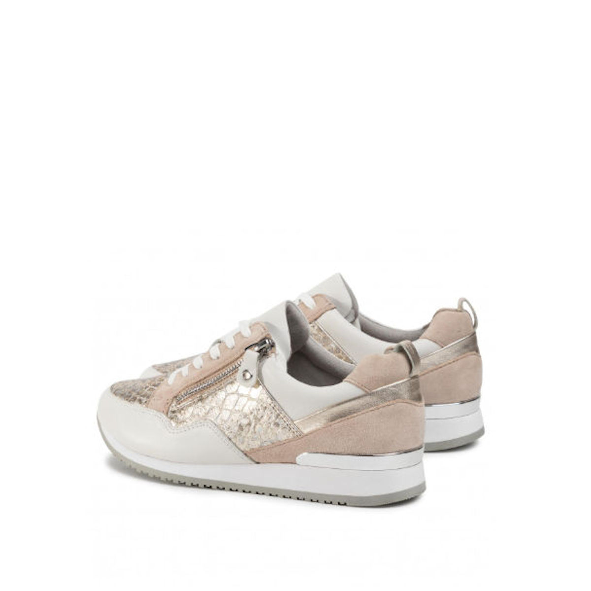 Caprice Gold White Trainer