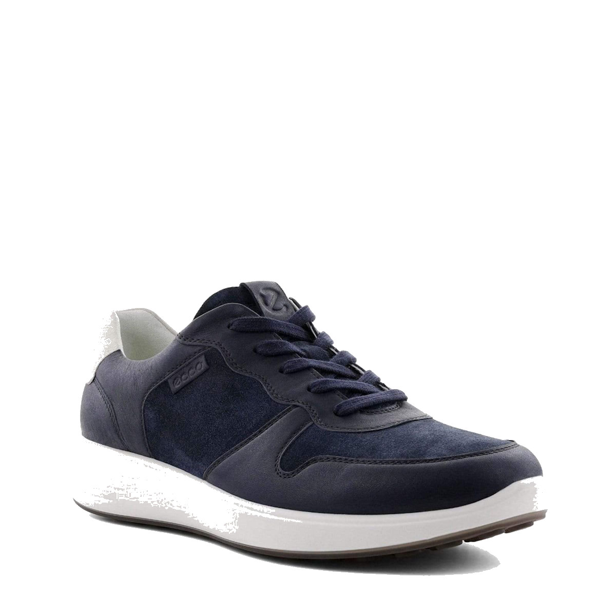 mens ECCO Soft 7- Navy Blue Runner Sneaker