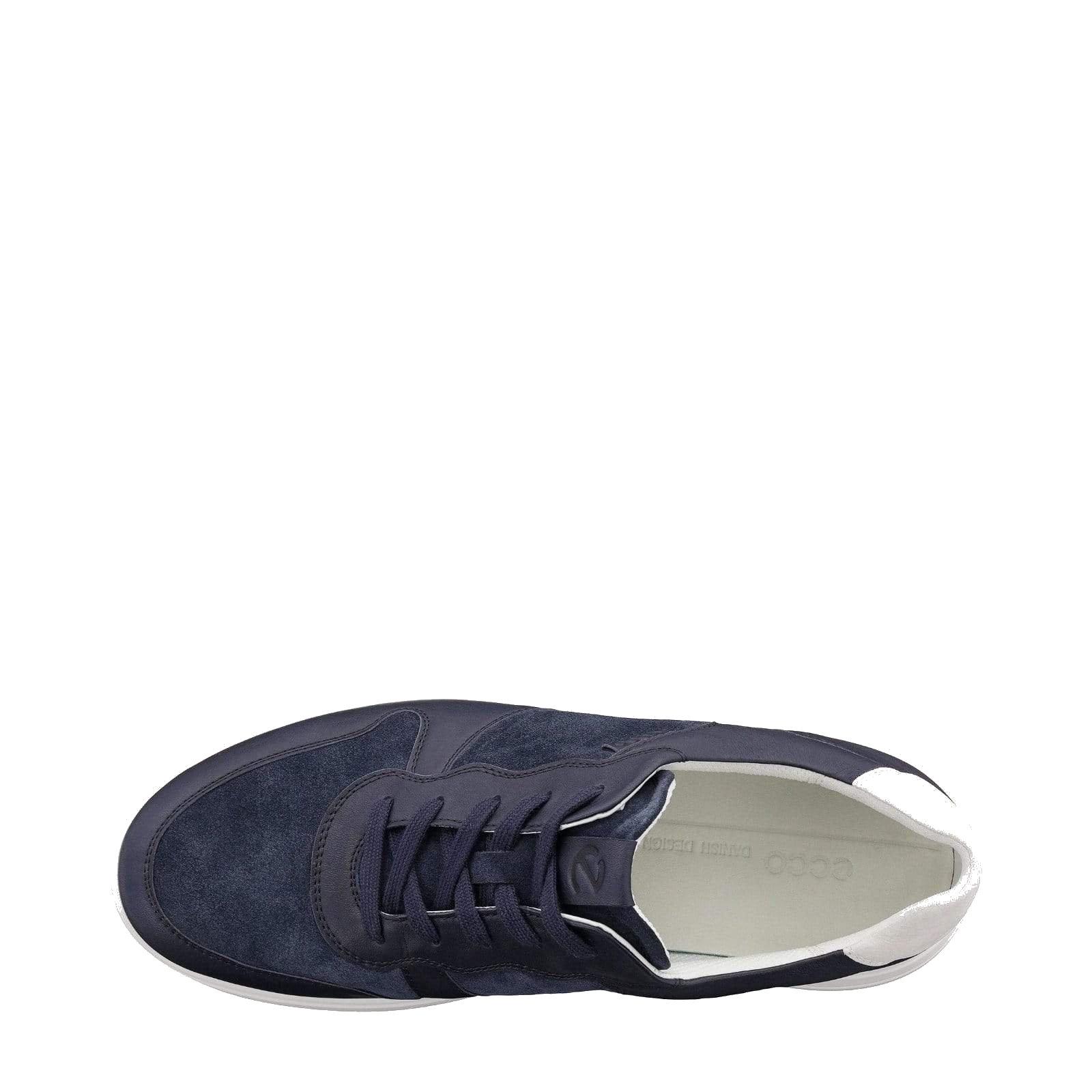 mens ECCO Soft 7- Navy Blue Runner Sneaker