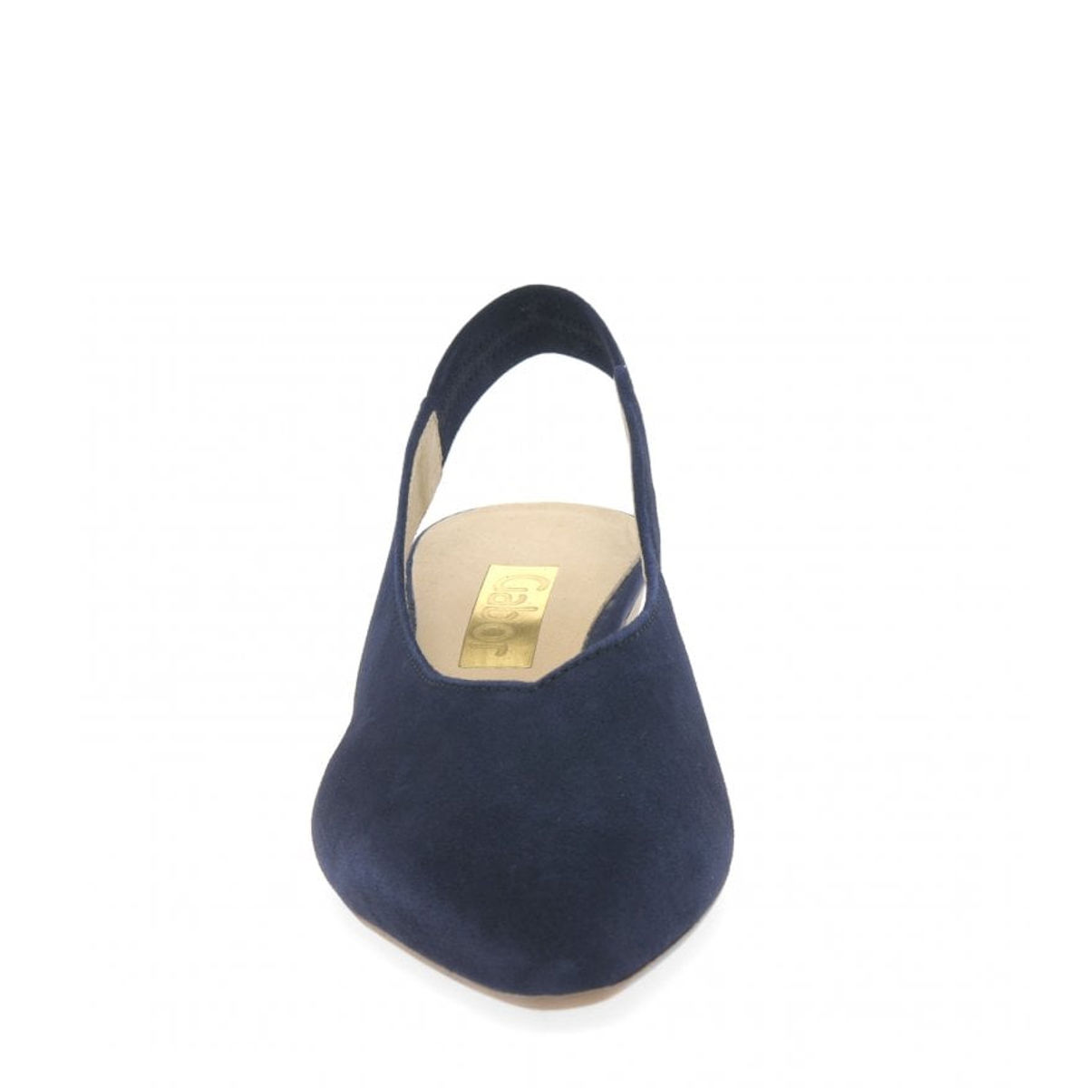Gabor Heathcliff slingback court shoe blue
