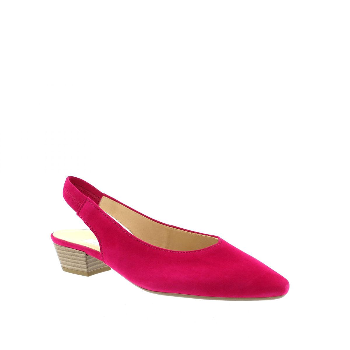 Gabor Heathcliff slingback court shoe fuchsia