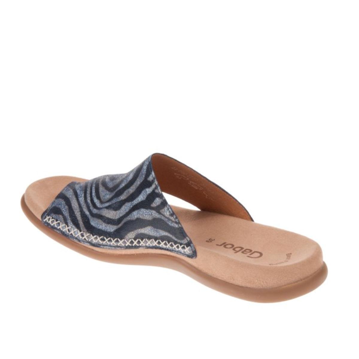 Gabor Lanzarote - Safari Bluette Toe Ring Mule