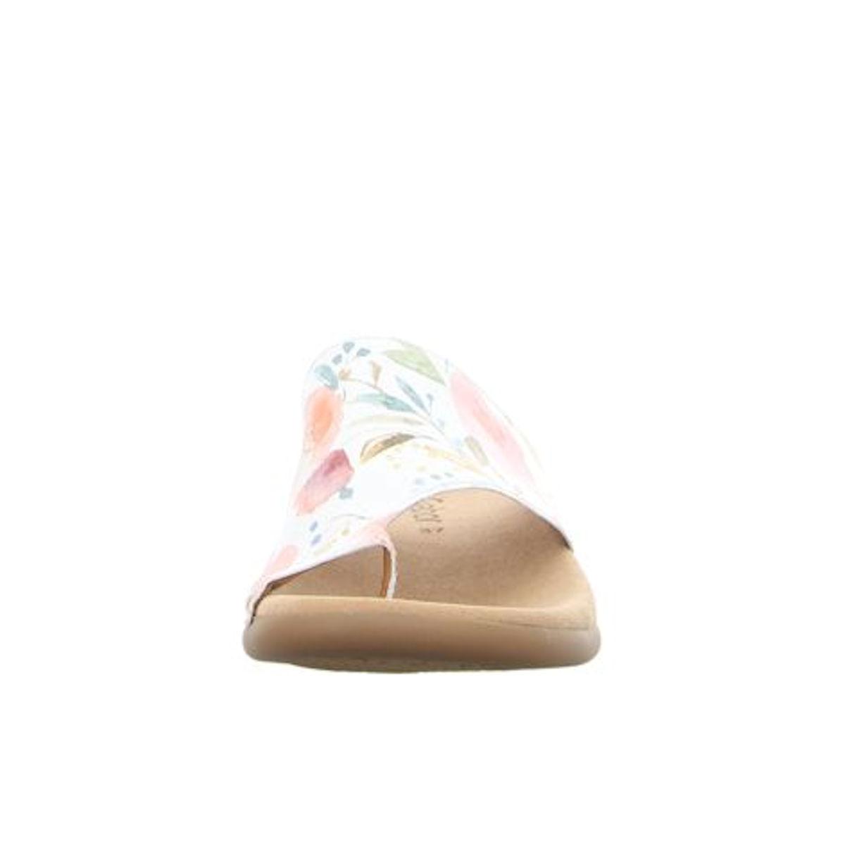 Gabor Toe Ring Mule floral Sandal