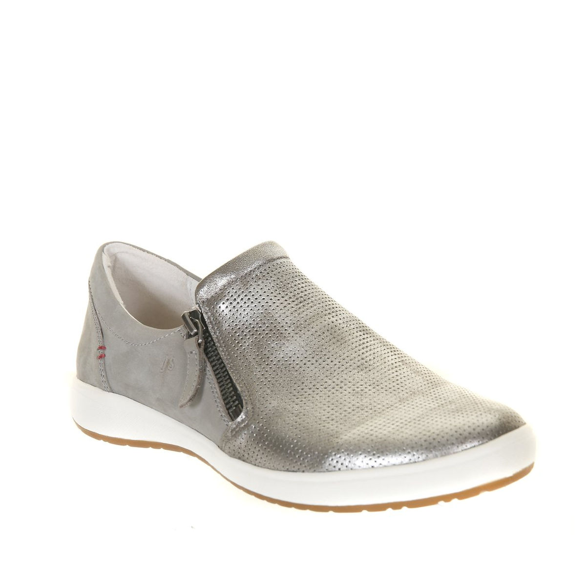 Josef Seibel Caren 22 - Womens Slip-on Grey Platin Combi Fashion Trainer