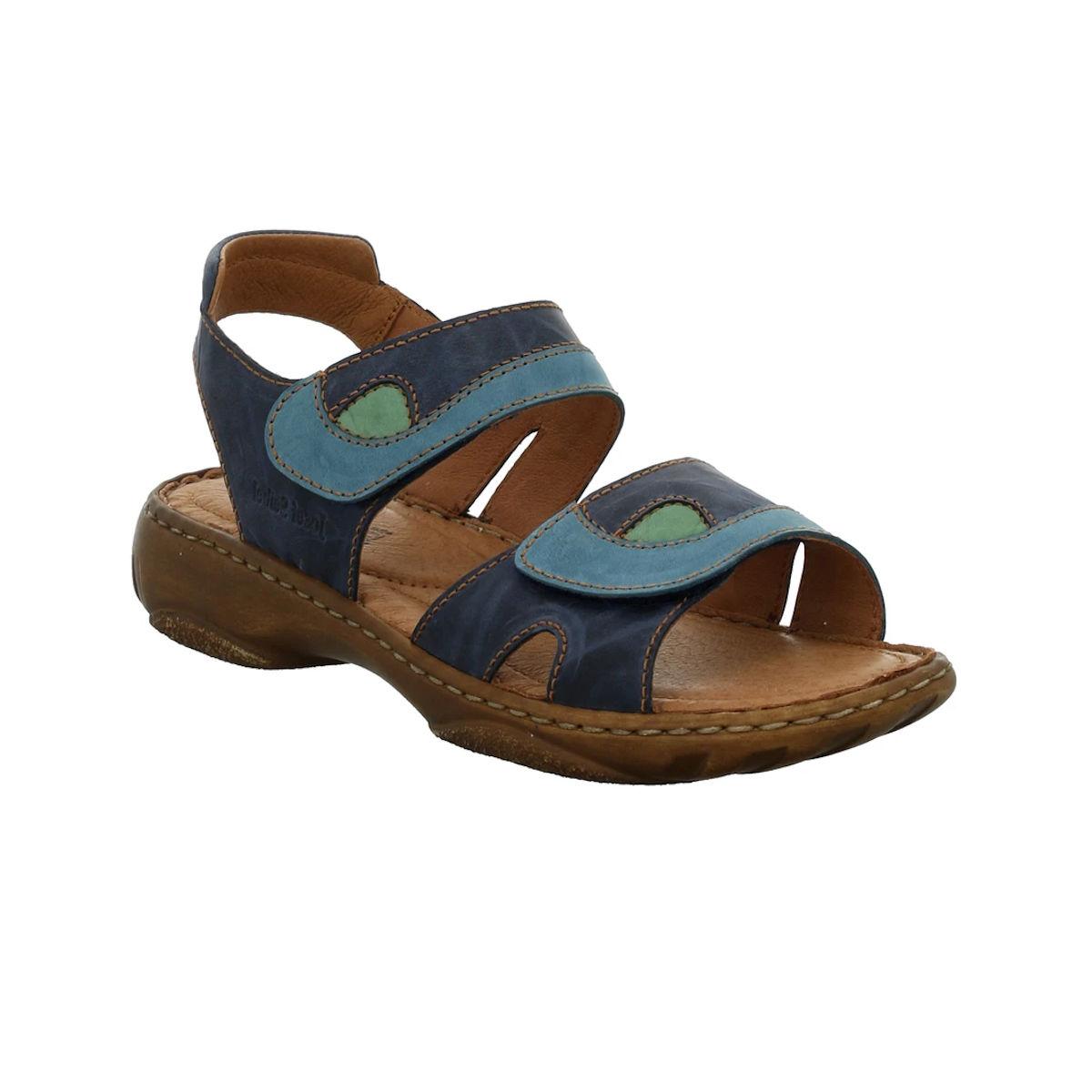 Josef Seibel Debra Blue Combi Sandal for wome