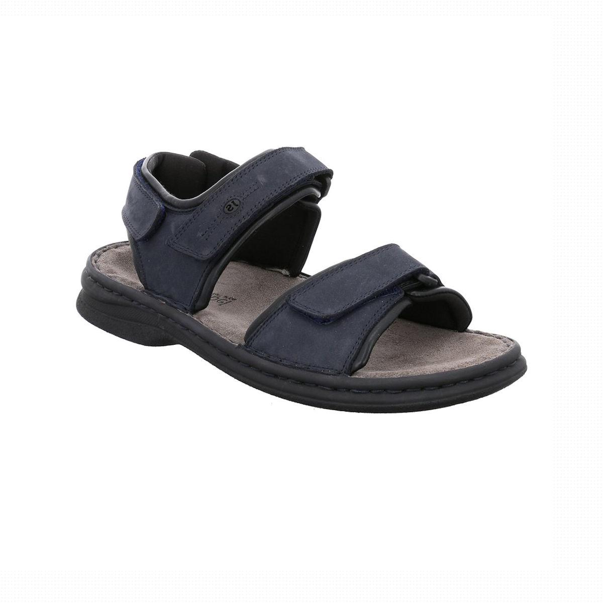 Josef Seibel Rafe - Mens Blue Sandal