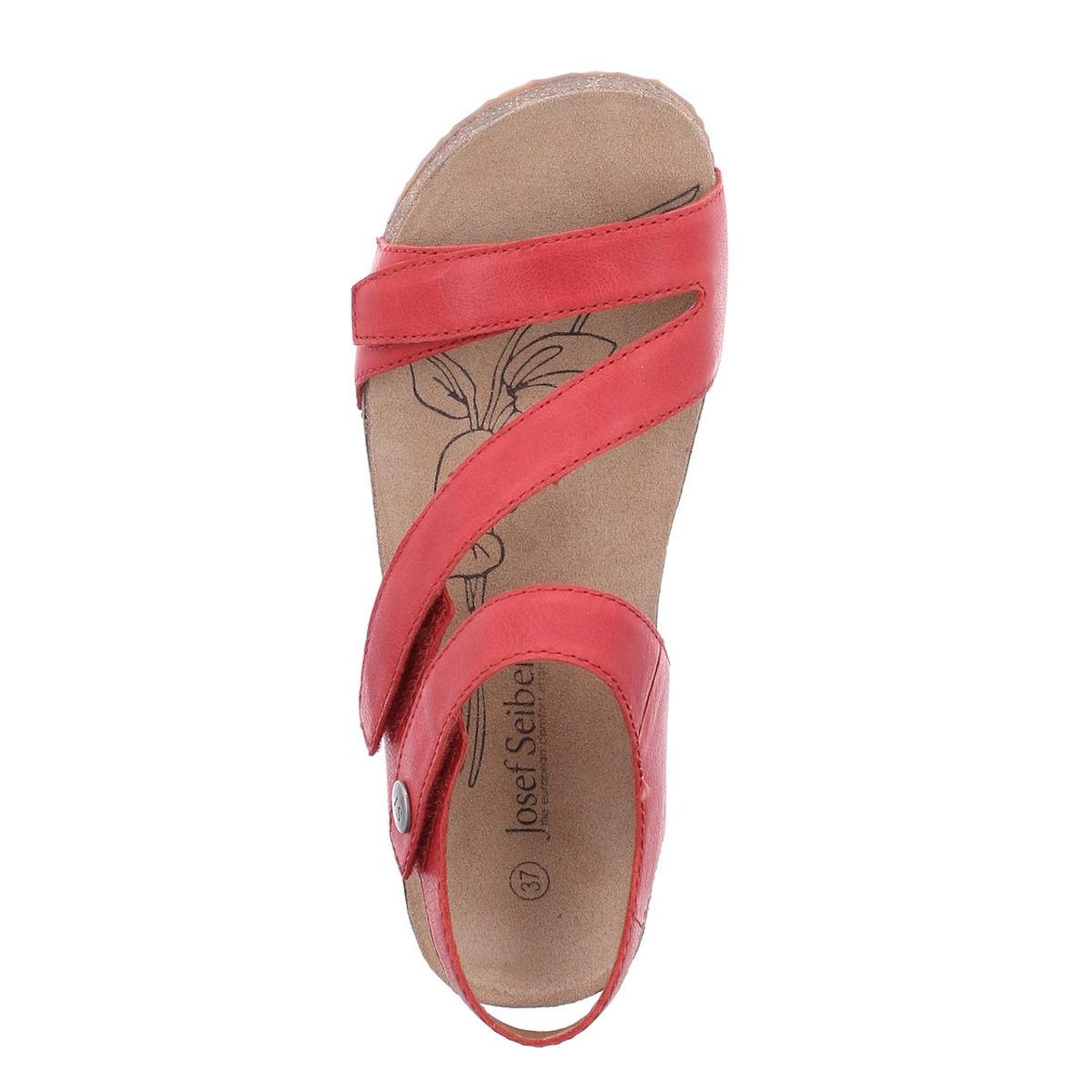 Josef Seibel Tonga 25 - Womens Red Sandal