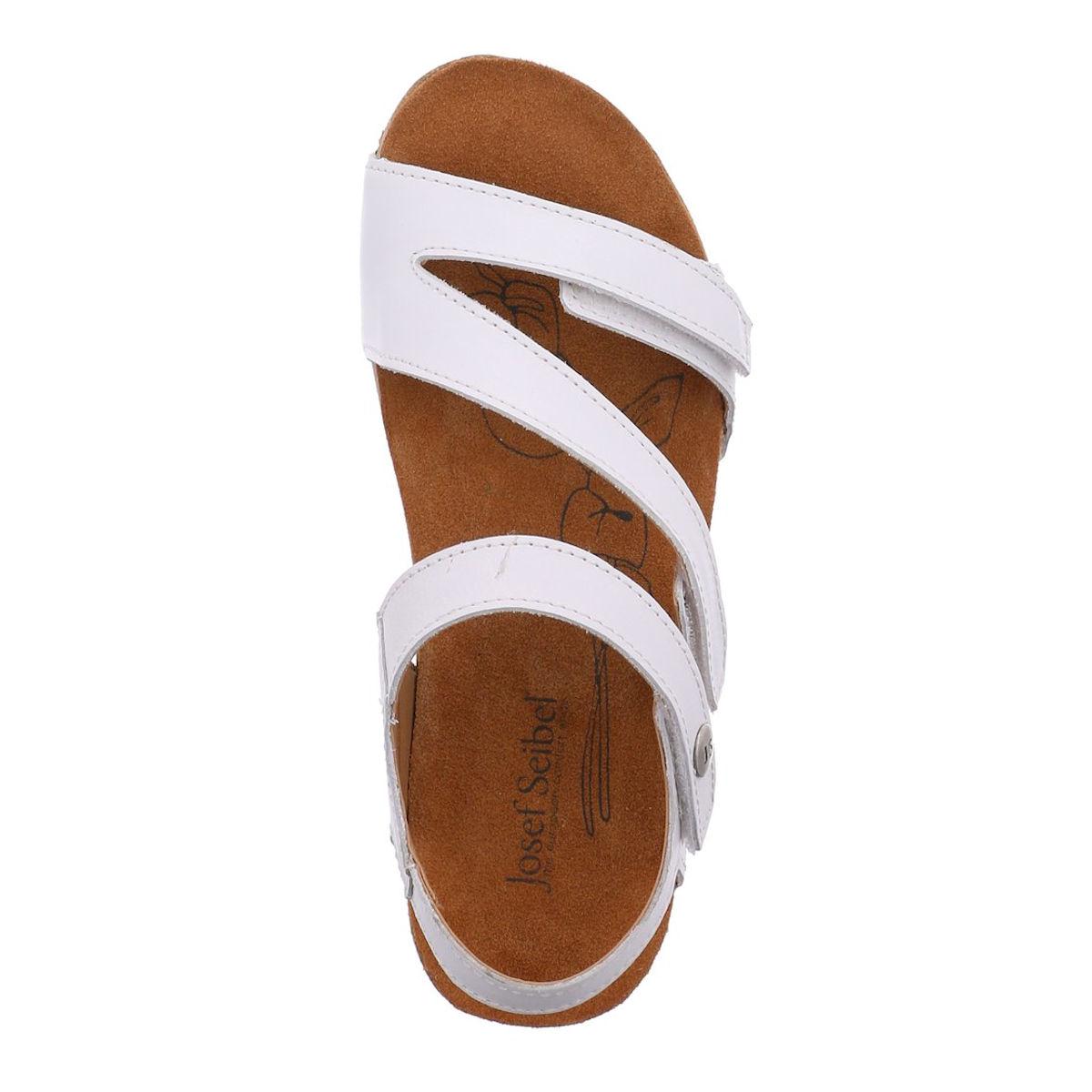 Josef Seibel Tonga 25 - Womens White Sandal