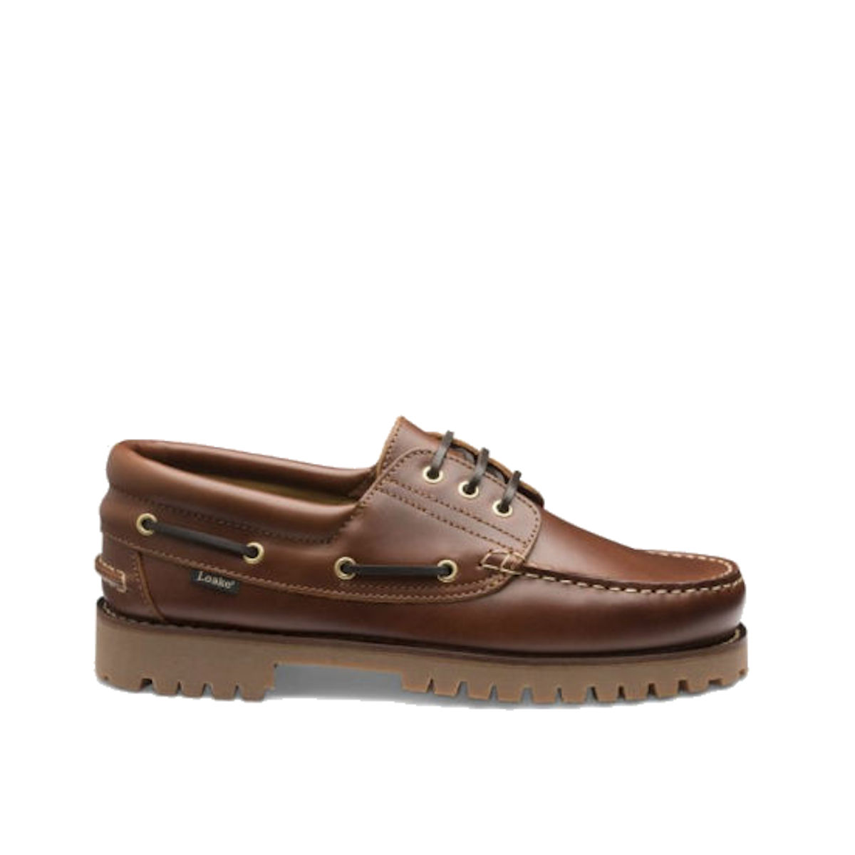 Loake 522 CH - Mens Brown Deck Shoes