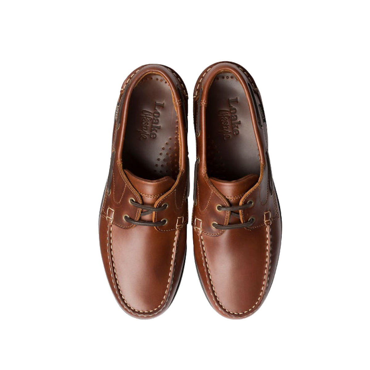 Loake 524 CH - Mens Brown Deck Shoes