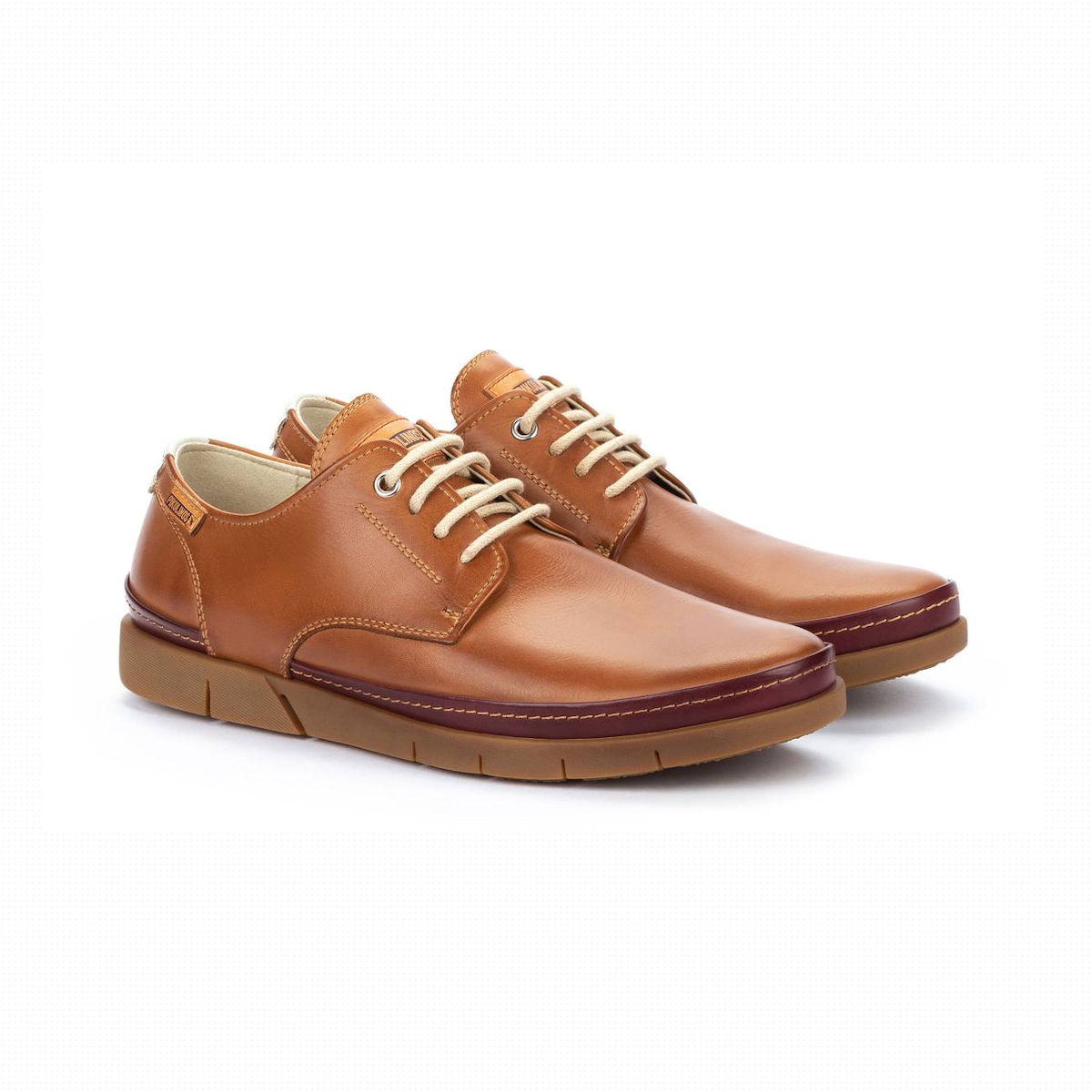 Pikolinos Palamos M0R Mens Brandy Leather Shoe