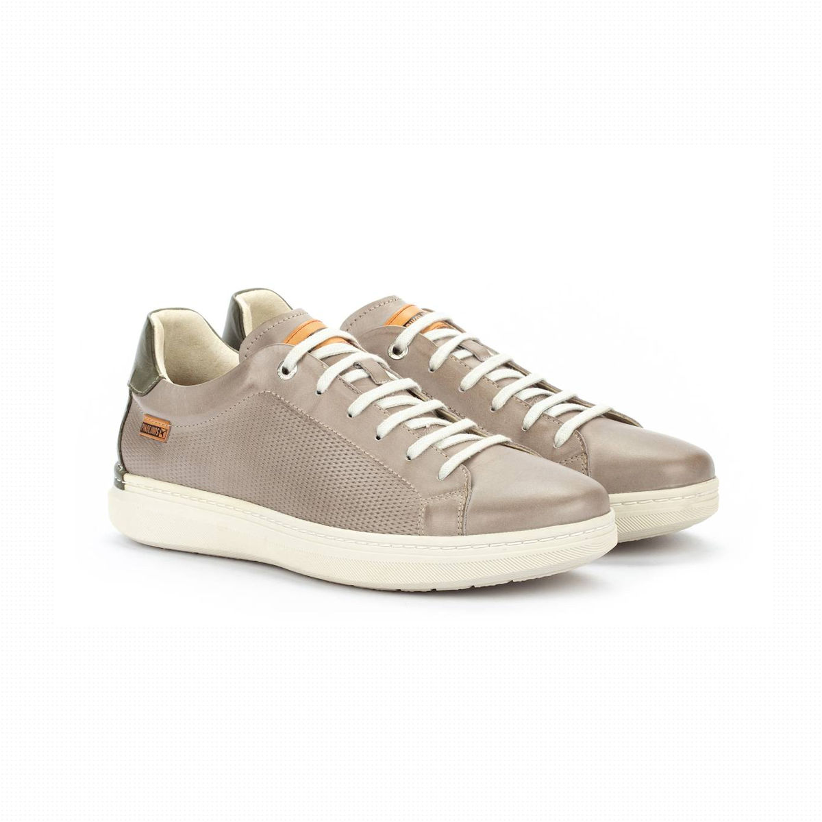 The Pikolinos Begur M7P Mens Sneeker in Slate Grey