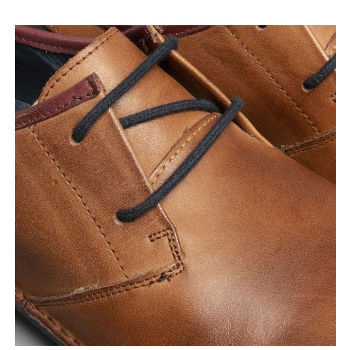 Pikolinos M7B-4023C3 - Mens Cuero Navy Derby Shoe