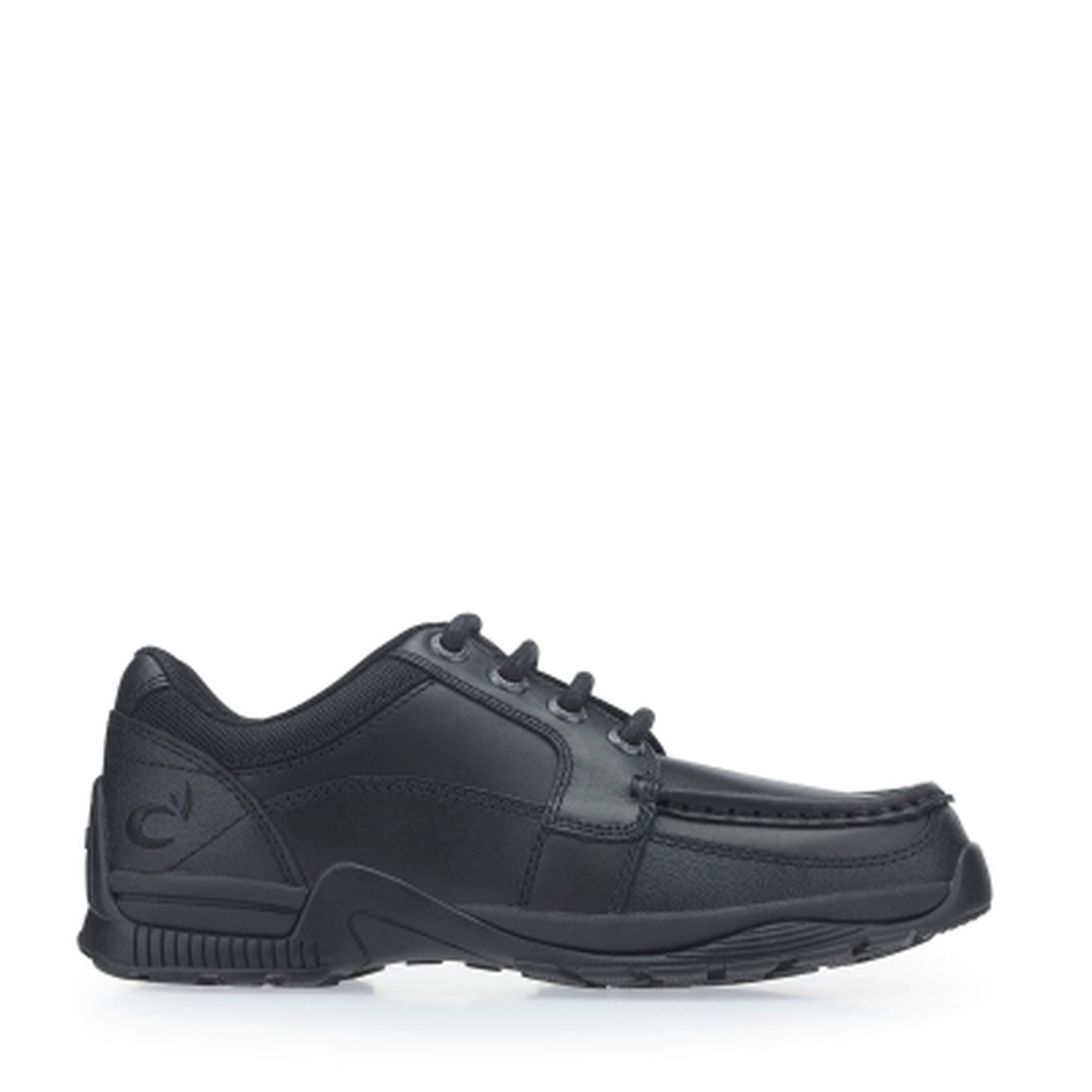 Start-rite Dylan Boys Black Leather Shoe