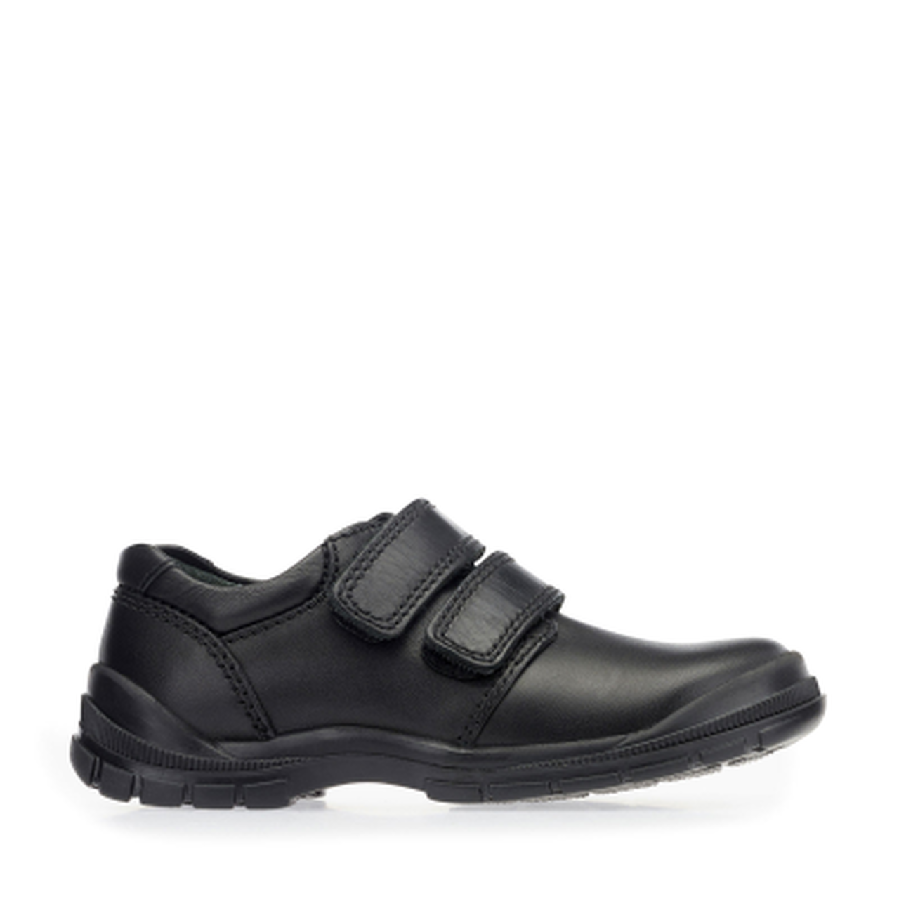 Start-rite Engineer boys black leather shoe