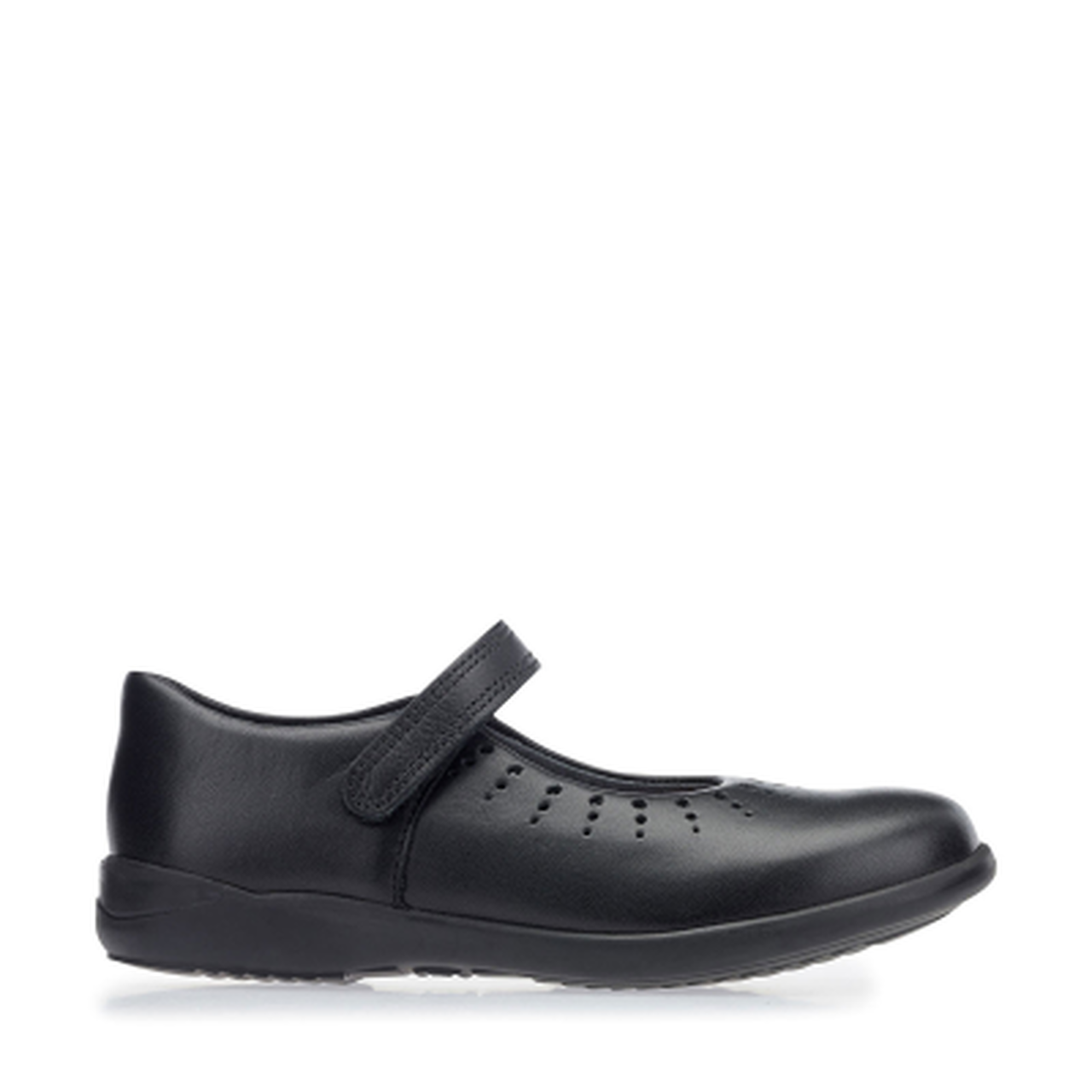 Start-rite Mary Jane Girls Black Leather Shoe