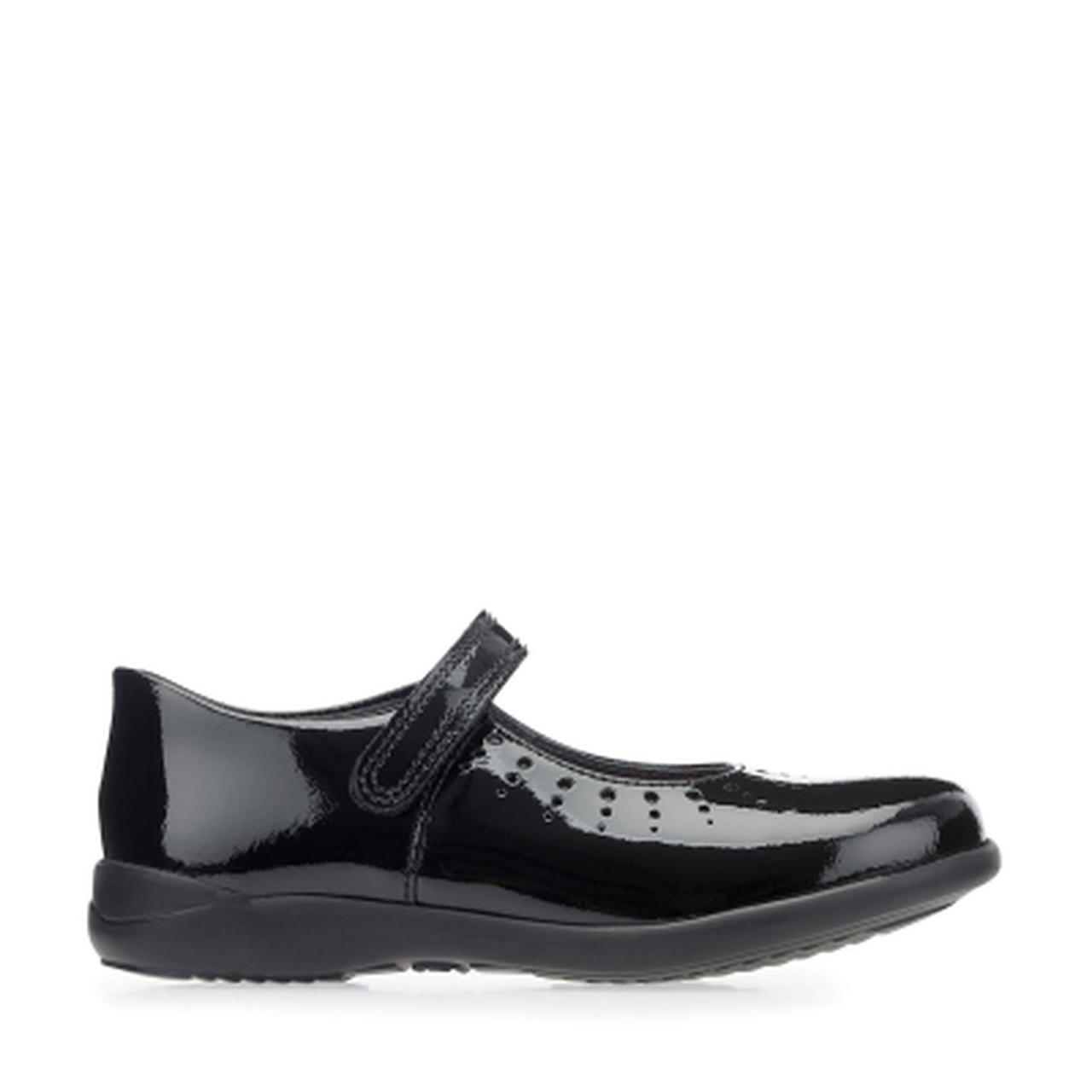 Start-rite Mary Jane Girls Black Patent Shoe
