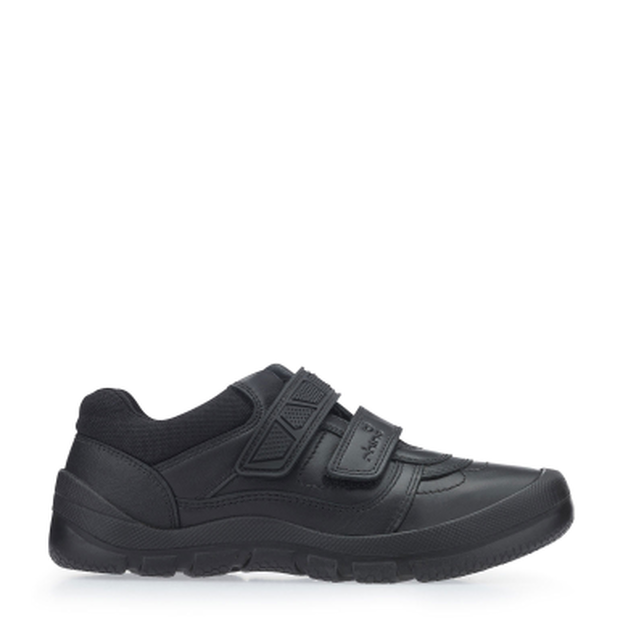 Start-rite Rhino Warrior black leather school shoe